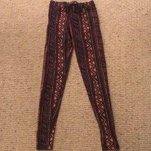 Forever 21 XS patterned leggings